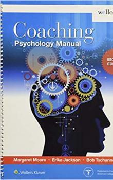 Coaching Psychology Manual - 2nd Edition - Wellcoaches