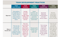 Understanding Team Development Practices