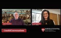 Video Still of Richard Boyatzis and Carol Kauffman