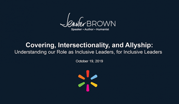 Coaching for Diversity: Understanding our Role as Inclusive Leaders, for Inclusive Leaders
