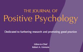 Journal of Positive Psychology