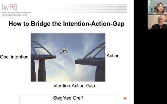 Webinar - Bridging the Intention-Action Gap