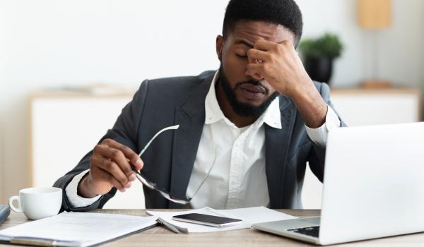 What to do if your client seems stressed